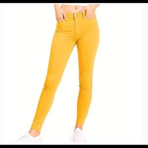 Celebrity Pink Jean Juniors High Rise Ankle Skinny